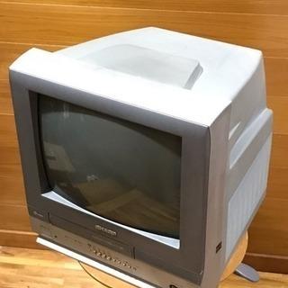 2003年製 SHARP 14インチ テレビデオ VT-14YH...