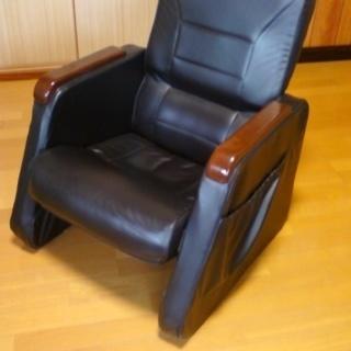 無段階リクライニング サイドポケット付き高座椅子