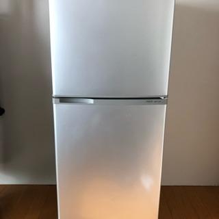 AQUA 2ドア冷凍冷蔵庫 137L