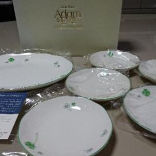 【取引中】値下げしました‼️Adam&eve ケーキ皿セット