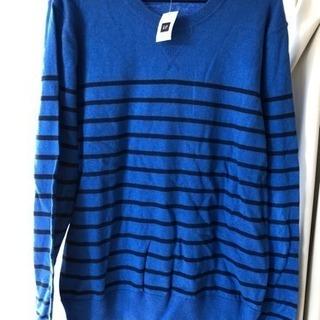 ❸新品未使用タグ付き GAP メンズセーター Mサイズ