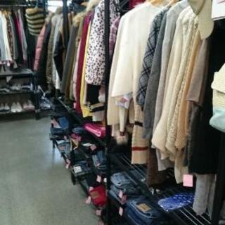 衣料品半額セール!1/4~1/6の3日間!