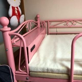 可愛い、ピンクのパイプベット