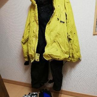 スノーボードウェアセット 男性用Lサイズ
