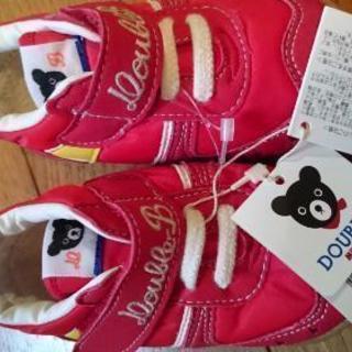 新品ミキハウス DOUBLE_B 靴13㎝