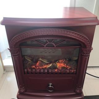 ニトリの暖炉型ヒーター(限定色)お譲りします