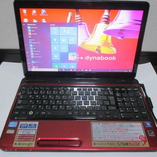 【美品】東芝dynabook T451/57DR Corei7/...