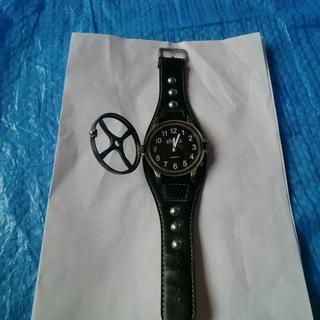 Shi Suo 腕時計ブラック(オープンフェィス)PF読んでくだ...