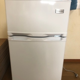 [引取者決定]新品 箱なし MAXZEN 2ドア冷蔵庫 87L