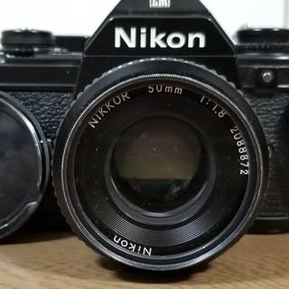 Nikon/ニコン EM カメラ NIKKOR 50mm 1:1...