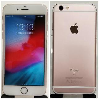 SIMフリー iPhone 6s 64GB ピンクゴールド 美品...