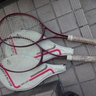 硬式テニスラケット 2本