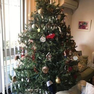 クリスマスツリー 組立式 7フィート(213cm)