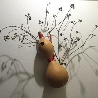ひょうたんの一輪挿し【花生け】