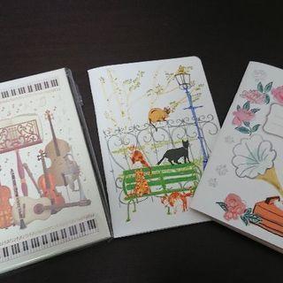 外国の新品可愛いメモ帳3個セット