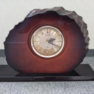 シチズン『置時計』 年輪天然木  ※中古品