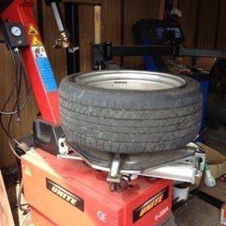 タイヤ組み替えバランス