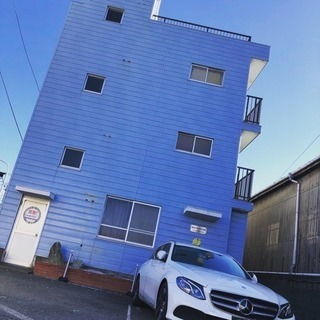 三浦市 スカイハイ三崎 2階ワンフロア 大型バイクガレージ利用可
