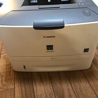 Canonレーザープリンター LBP6300(ジャンク扱い)