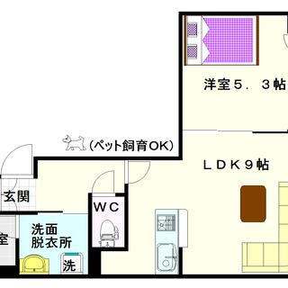 【I Cube 日本橋東】3号タイプ!1LDKタイプ!警備システ...