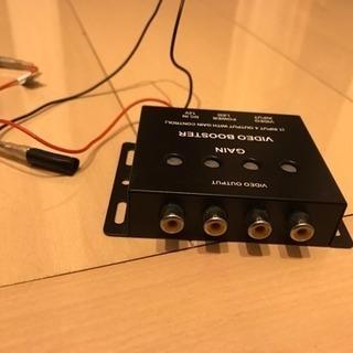 4出力ブースター映像分配器 ビデオブースター 4チャンネル
