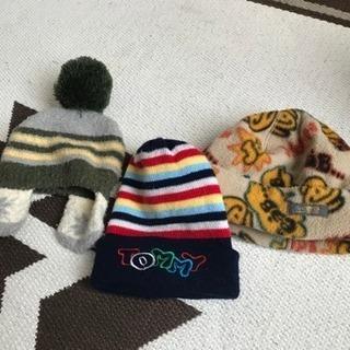 最終処分 ベビー用帽子 冬 セット 6か月〜1歳前後