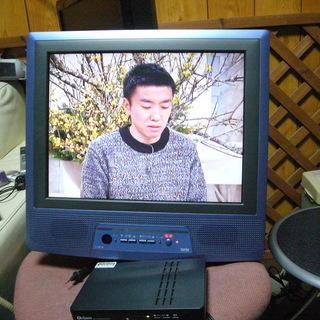 アナログテレビ+ 地上デジタルチューナー セット 中古