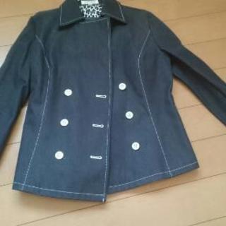 未使用 セルッチオ ストレッチデニム ジャケット ブラック Mサイズ