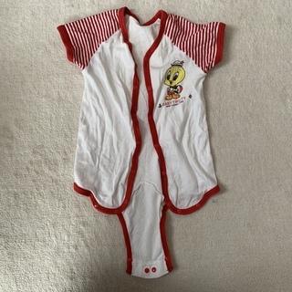 ⑪ベビー 赤ちゃん服 2WAYオール BABY TWEETY