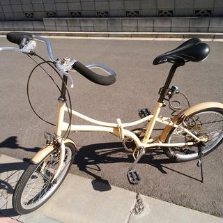 ●MyPallas マイパラス 自転車 折りたたみ自転車 20イ...