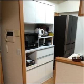 食器棚 ホワイト 大型