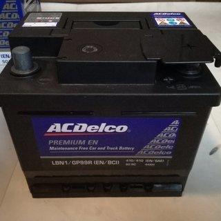 中古バッテリー ACデルコ LBN1