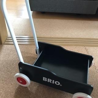 BRIO ブリオ 手押し車 黒