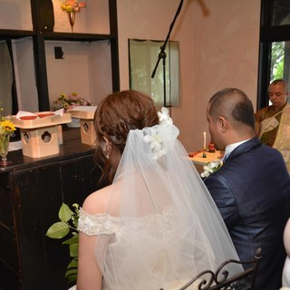 日本人に馴染みのある行為、合掌からはじまる結婚式(88,008円~)