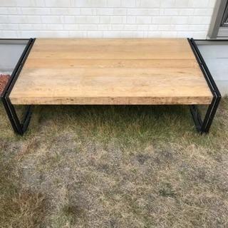 ローテーブル ウッドデッキ
