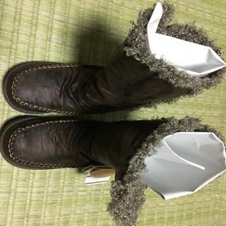 アシックス majo aile ブーツ未使用品 23.5
