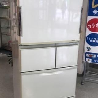 セール品❗️シャープ 5ドア冷凍冷蔵庫2011年製 380L
