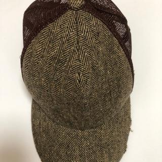 キャップ ブラウン 茶色 帽子