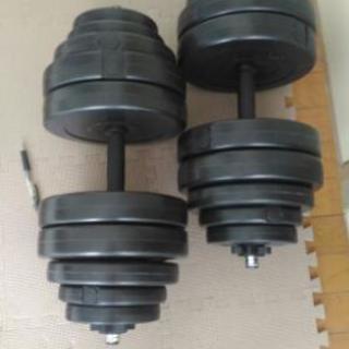 30kgダンベル×2