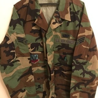 (値段交渉可) 迷彩服(米空軍)