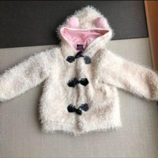 ドーリーリボン コート 120 女の子 美品 ジャケット アウター...