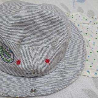 かわいい日差しよけ帽子
