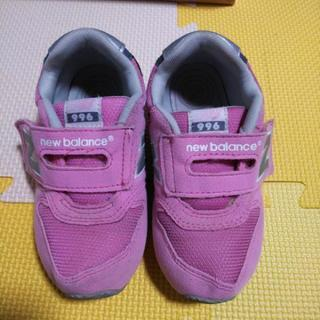 new balanceニューバランス靴スニーカー女の子16cm