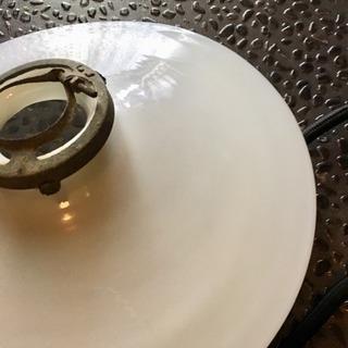 アンティーク ミルクガラス ランプシェード
