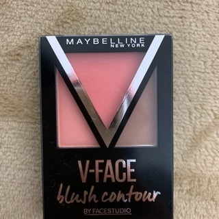 チーク MAYBELLINE V-FACE