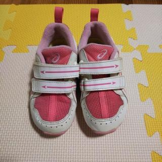 asicsアシックス靴スニーカー女の子16.5cm16cm
