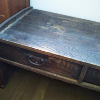 昔の勉強机