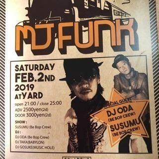 2月2日 soul.fank.disco踊れるDJイベント‼︎