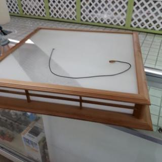 【リブラ店】値下げ!木製枠 シーリングライト ナショナル 和室用