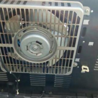 MITSUBISHIのファンヒーターです。